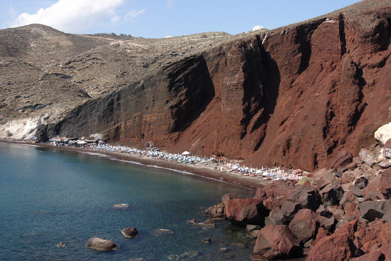 Santorini bus tour
