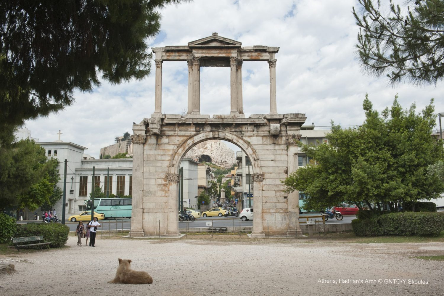 Athens Andrianou Arch