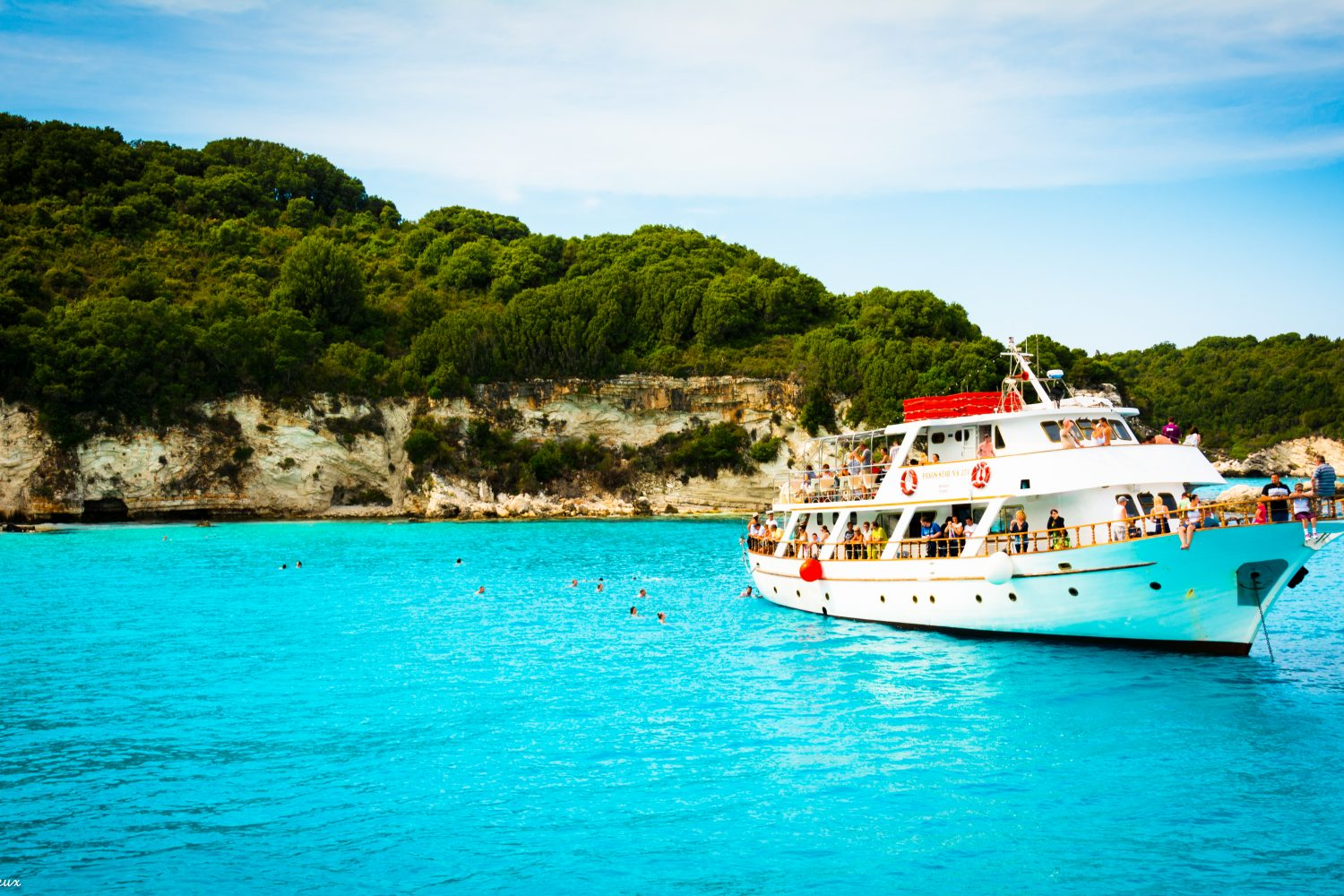 Cruise from Corfu