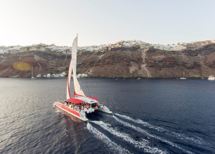 Morning Red Cruise from Santorini
