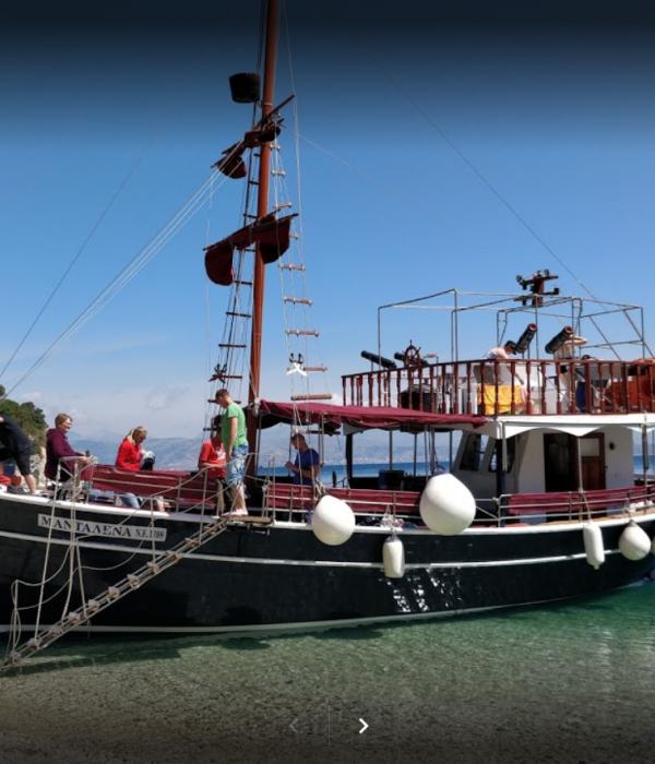 Full Day Boat Trip in Corfu