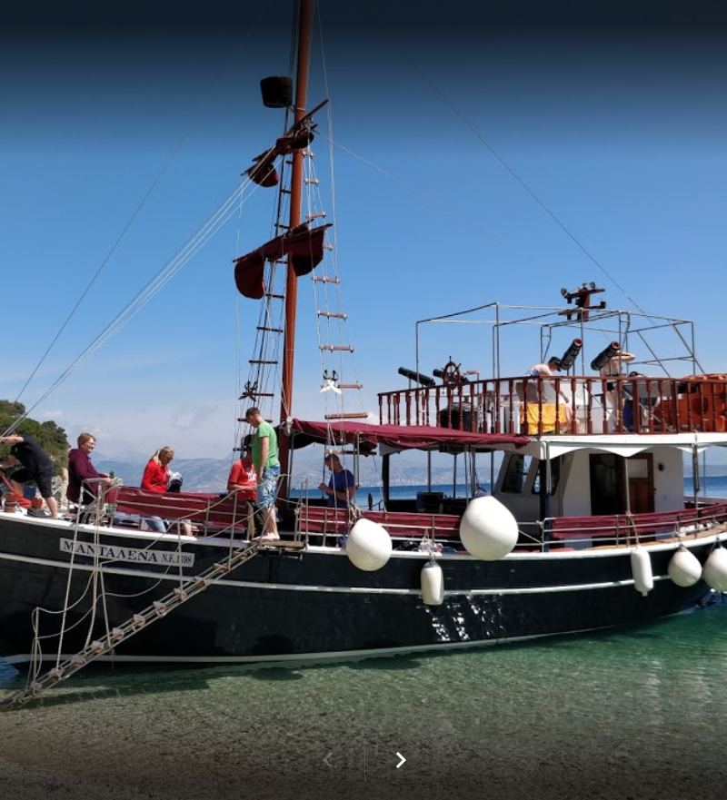 Full Day Boat Trip in Corfu