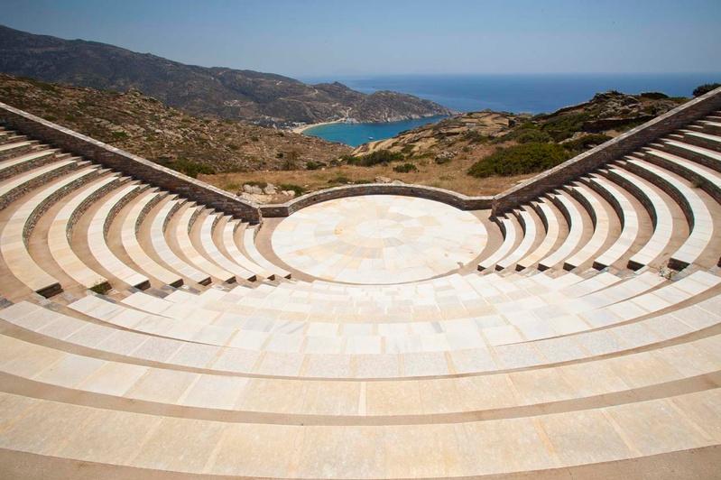 Odysseas Elytis Theater Ios