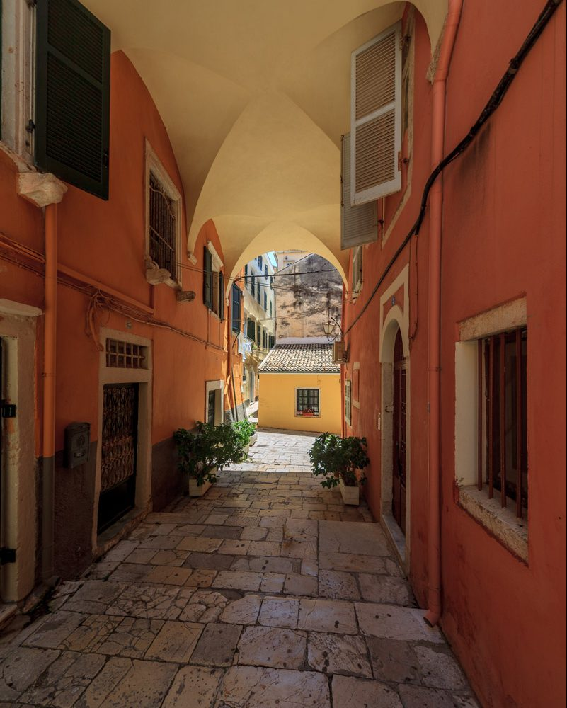 Private Professional Photoshoot Session in Corfu Town