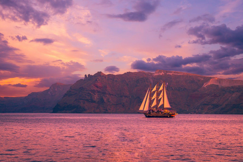 Santorini Volcano Sunset Cruise