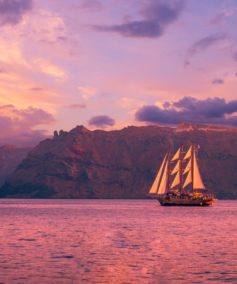 Santorini Volcano Sunset Cruise