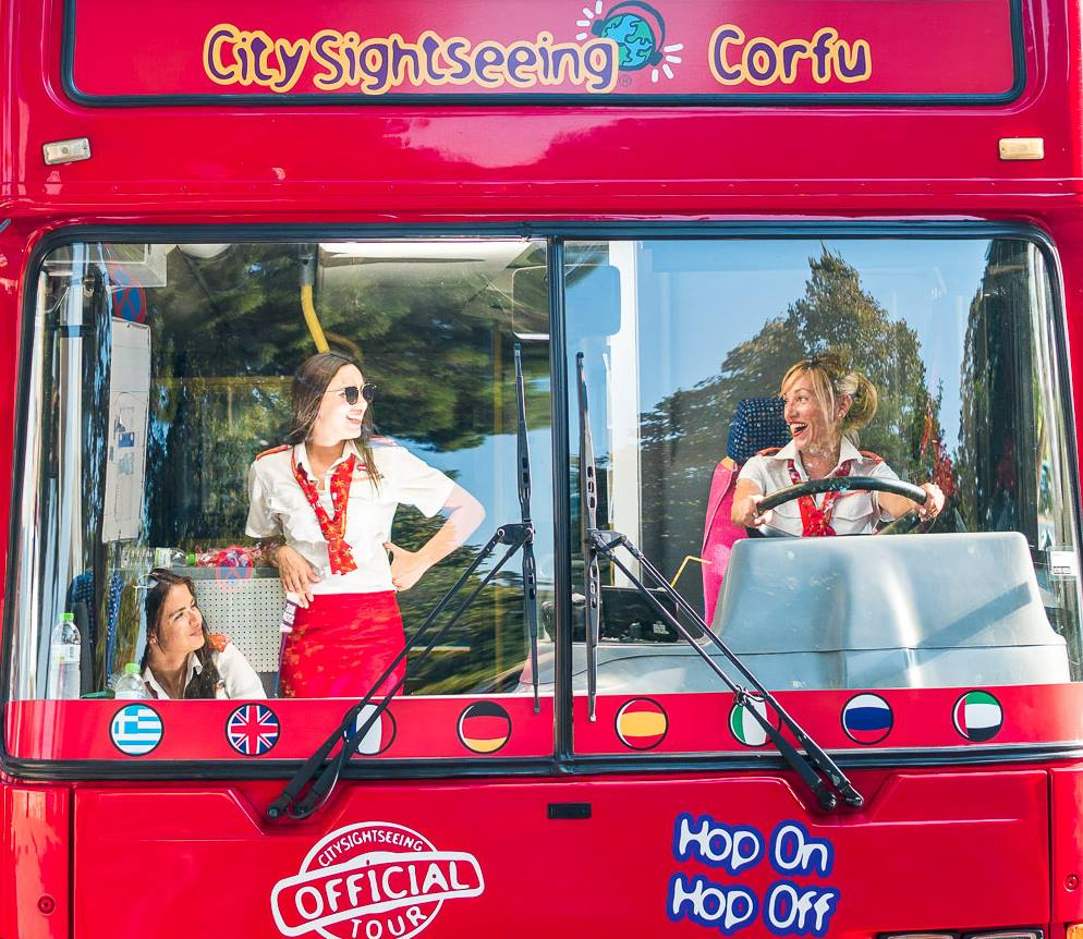 City Sightseeing Corfu Hop-On Hop-Off Bus Tour