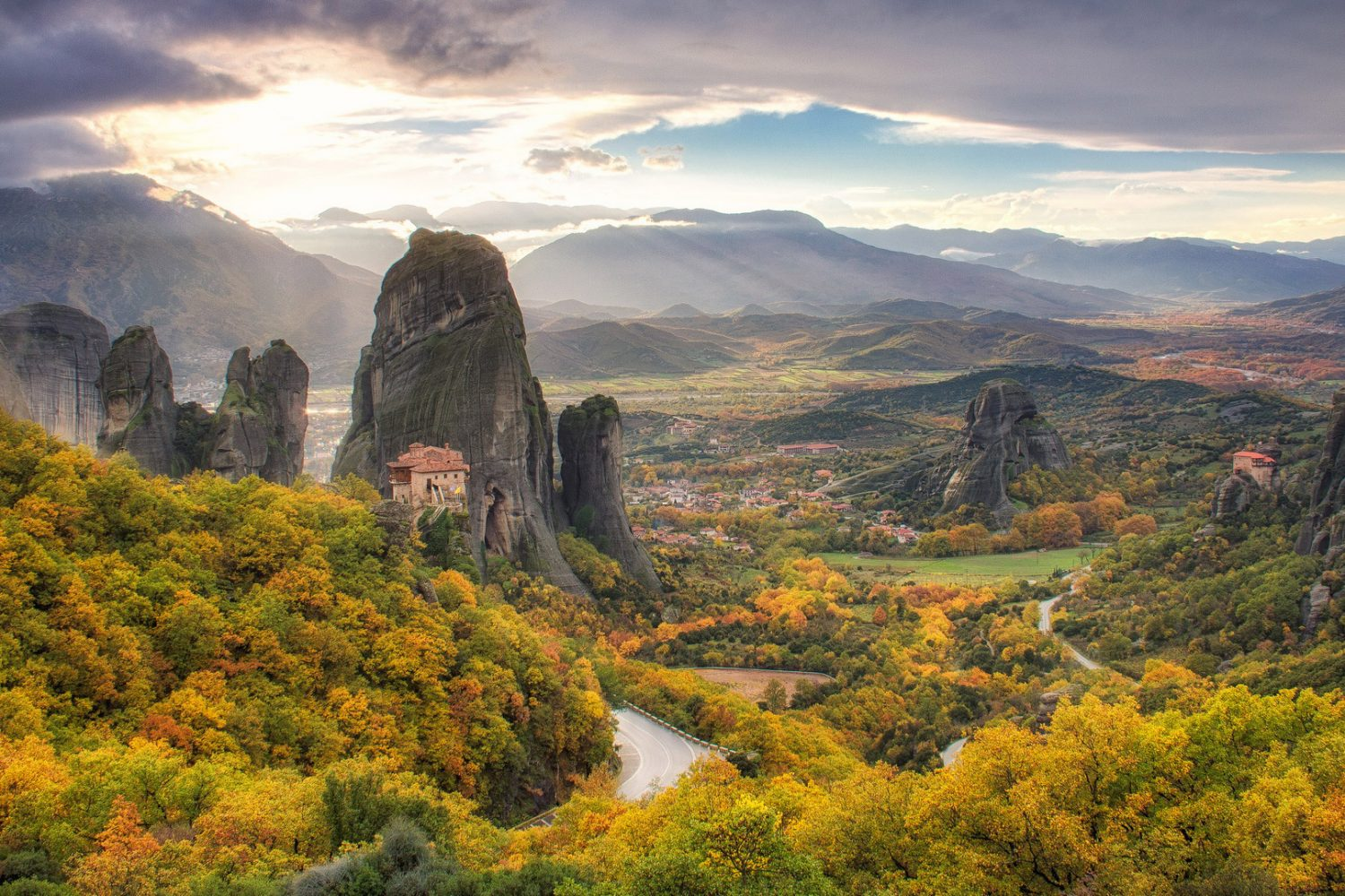 Meteora One Day Trip
